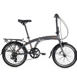 EVO EVO, Vista Folding City Bicycle GREY