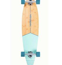 Retrospec Retrospec Zed Pintail Longboard Bondi Wave