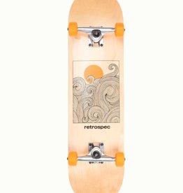 Retrospec Retrospec Alameda Skateboard Tangerine Wave