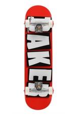"""Baker Skateboards Baker Logo Complete SK8 RED/WHT/BLK 8.0"""""""