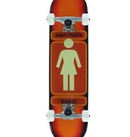 Chocolate Skateboards Girl Malto 93 TIL SK8 BLK/WHT/RED 7.75