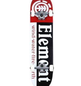 Element Skateboards Element Section Complete BLK/WHT/RED 8.0