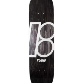 Plan B Plan B Stained Deck Black 8.25""