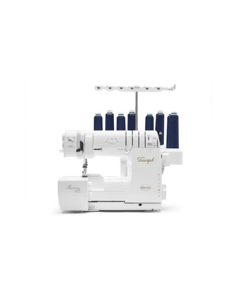 Baby Lock Babylock serger and cover stitch 8 threads Triumph