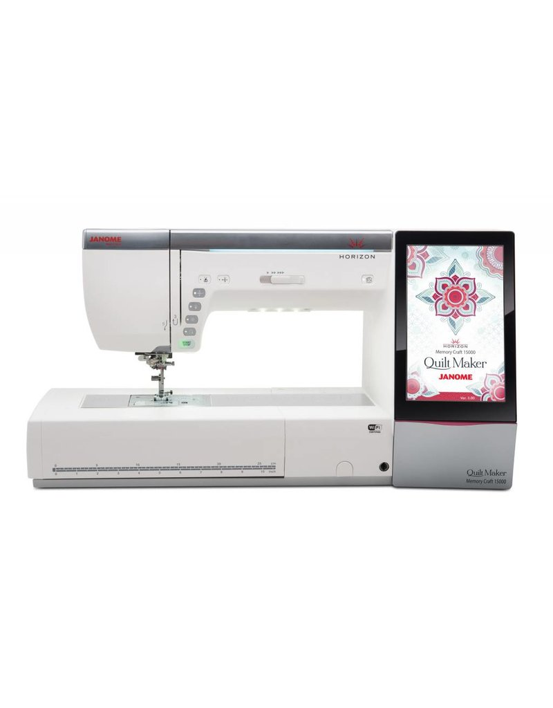 Janome Janome couture et broderie MC15000V3