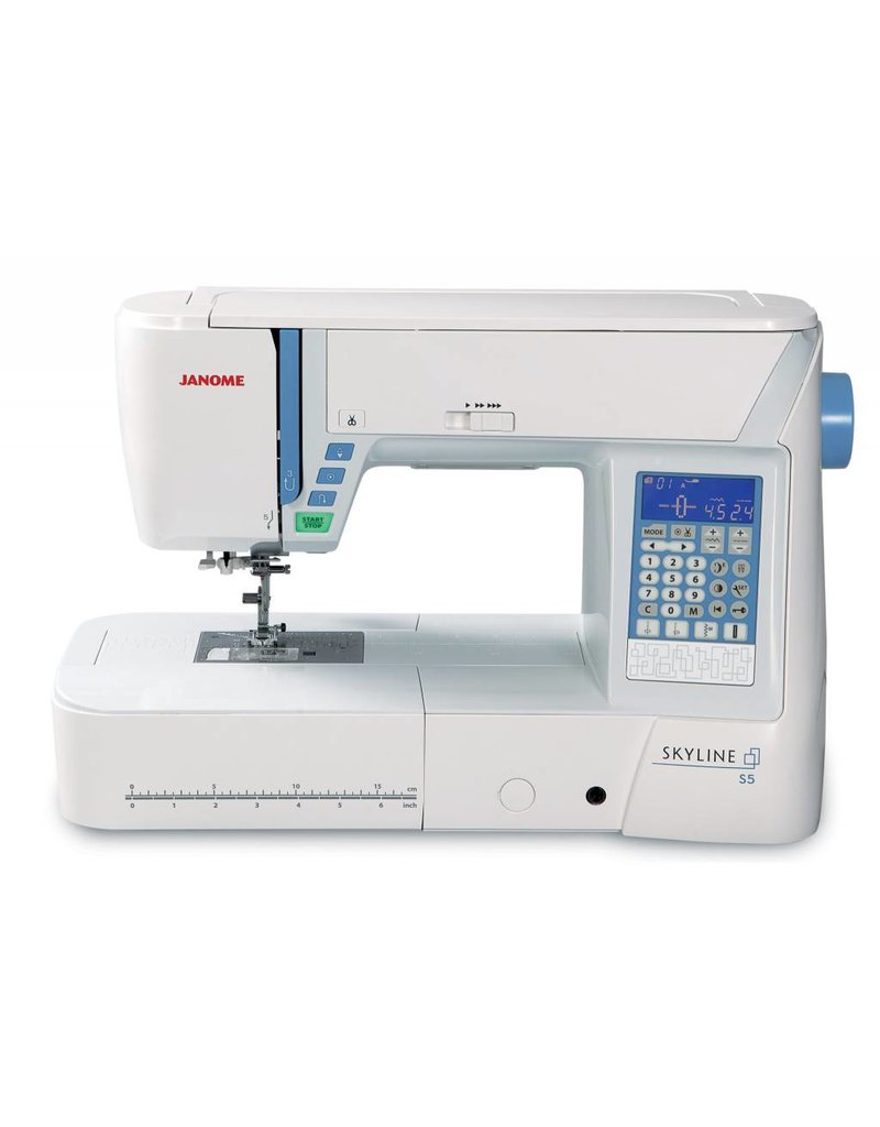 Janome Janome sewing and embroidery Skyline S5