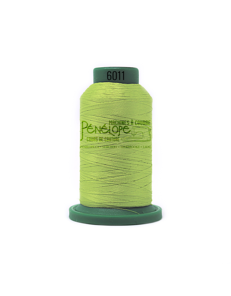 Isacord Isacord sewing and embroidery thread colour 6011 1000 meters
