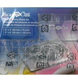 Brother ScanNCut Acrylique Stamp Block Set