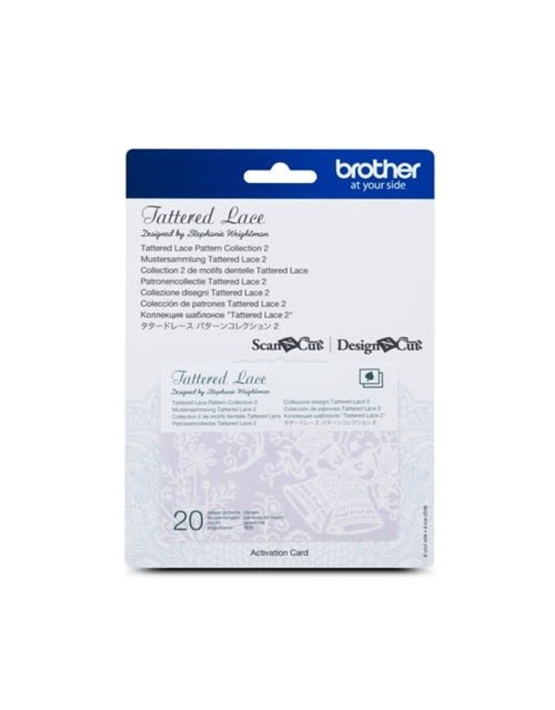 Brother Motifs Dentelle Tattered Lace Collection 2 pour ScanNCut