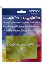 Brother Premium Pack No 1 pour ScanNCut Canvas