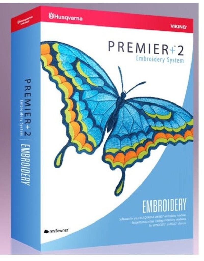 Husqvarna Logiciel Hus Premier+ 2 Embroidery téléchargeable