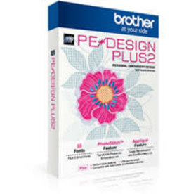 Brother Software de broderie Brother Pedesign Plus 2