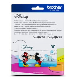 Brother Collectio#1 Gabarit Mickey Et Minnie Mouse