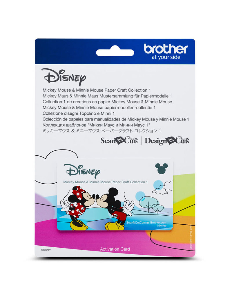 Brother  Mickey and Minnie Mouse Pattern Collection 1