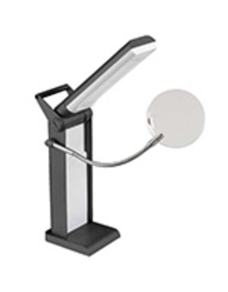 Unique LED Desk Lamp with Magnifier