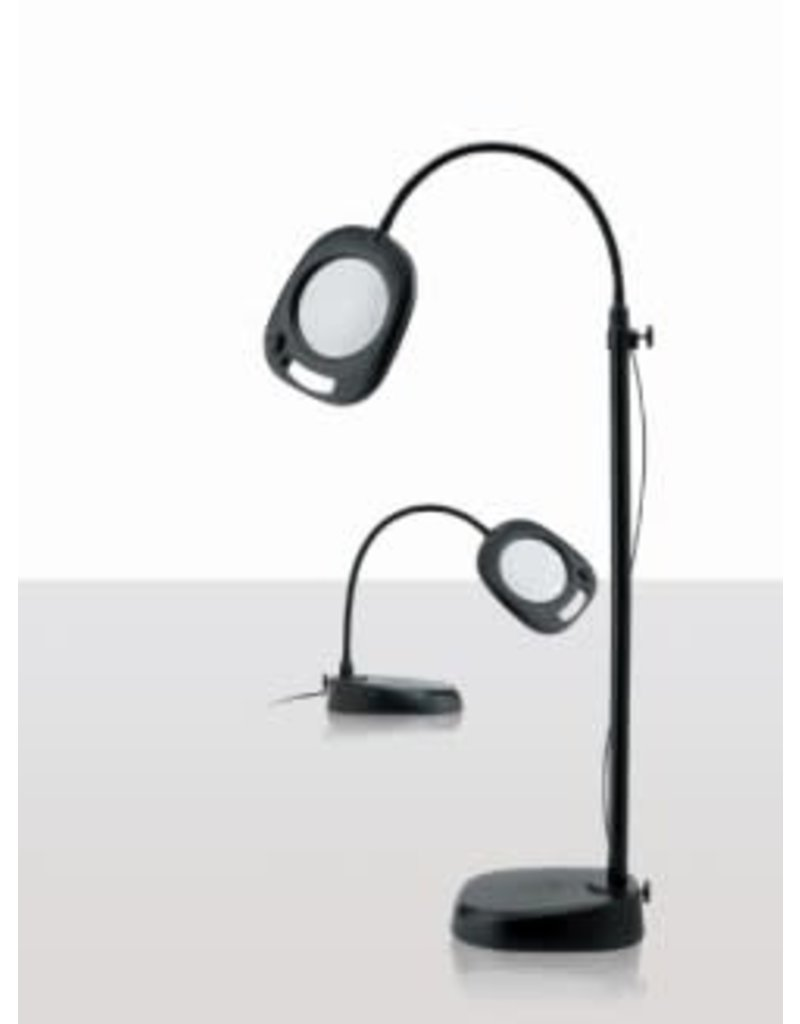 Day Light 5 inch Magnifing LED Floor and Table Lamp
