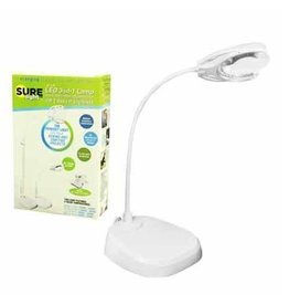 Unique 3 in 1 LED White Table Lamp