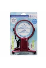 Unique Hands Free Magnifier with LED Light