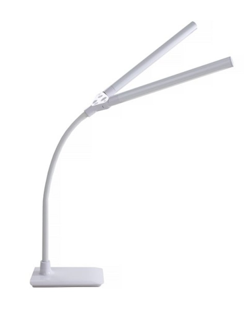 Lampe DEL Duo Flexible Sur Table