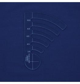 Sew Steady Règles entre les lignes - Ens. de 5, Low Shank