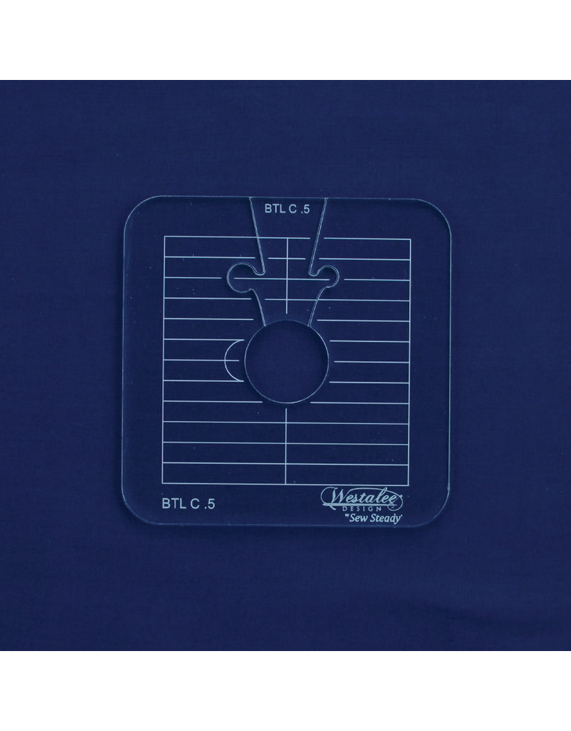 Sew Steady Between the lines Template Set / Cercle entre les lignes 0.5 Po-LS