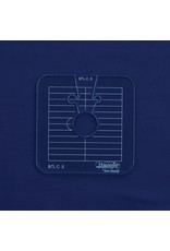 Sew Steady Between the lines Template Set / Cercle entre les lignes 0.5 Po-LA