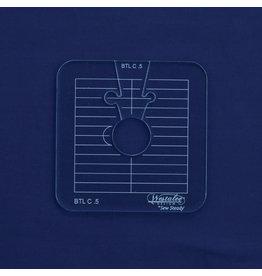 Sew Steady Between the lines Template Set / Cercle entre les lignes 0.5 Po-LA