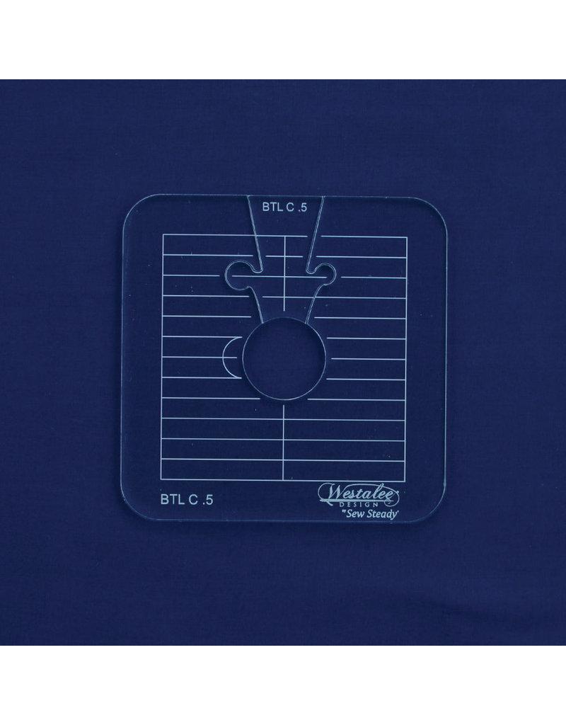 Sew Steady Between the lines Template Set / Cercle entre les lignes 0.5 Po-HS