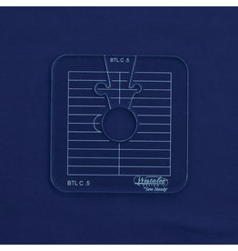 """Sew Steady Circles between the lines - 2"""", Low shank"""