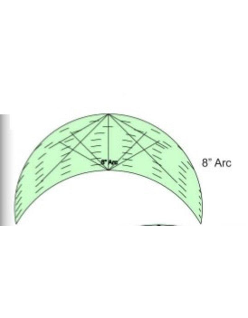 Sew Steady Règle Arc - 8 Po, High Shank