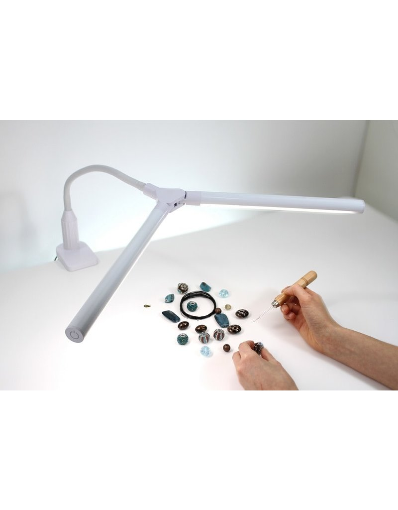 Daylight 2-way Flexible Lamp with Clamp