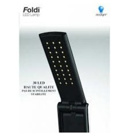 Day Light Daylight Black Folding  LED with USB Connection