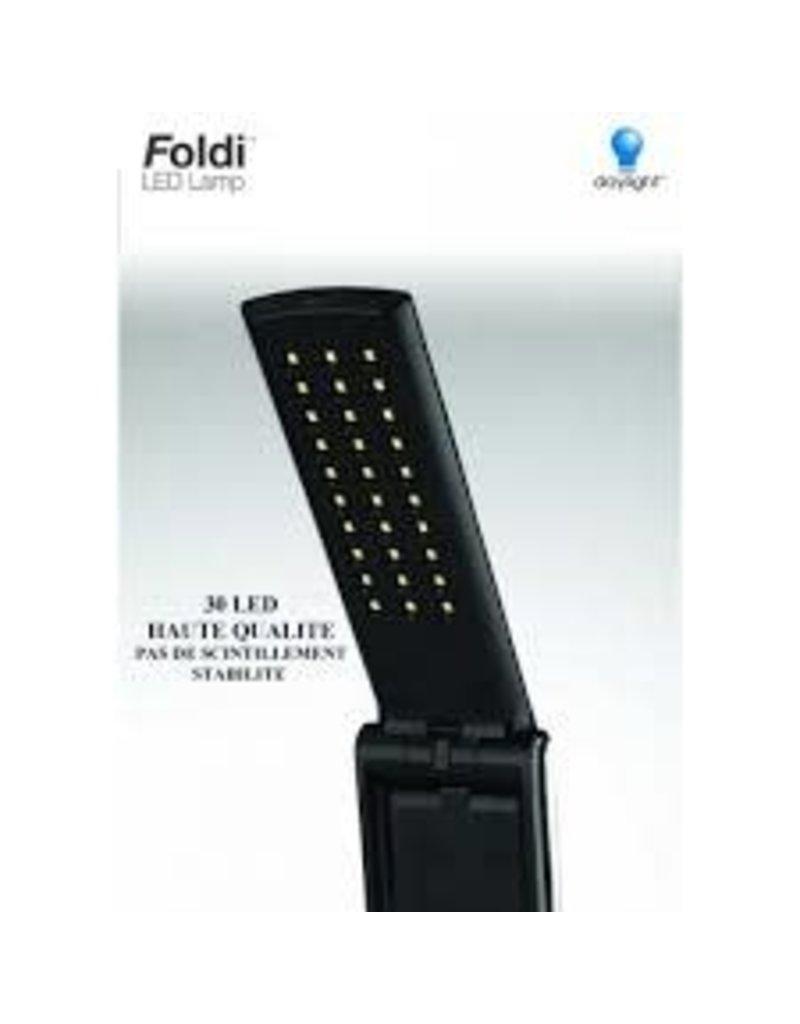 Day Light Lampe Noir Daylight Pliante DEL avec Connection USB