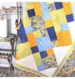 Pénélope Quilt straight to the point in 6