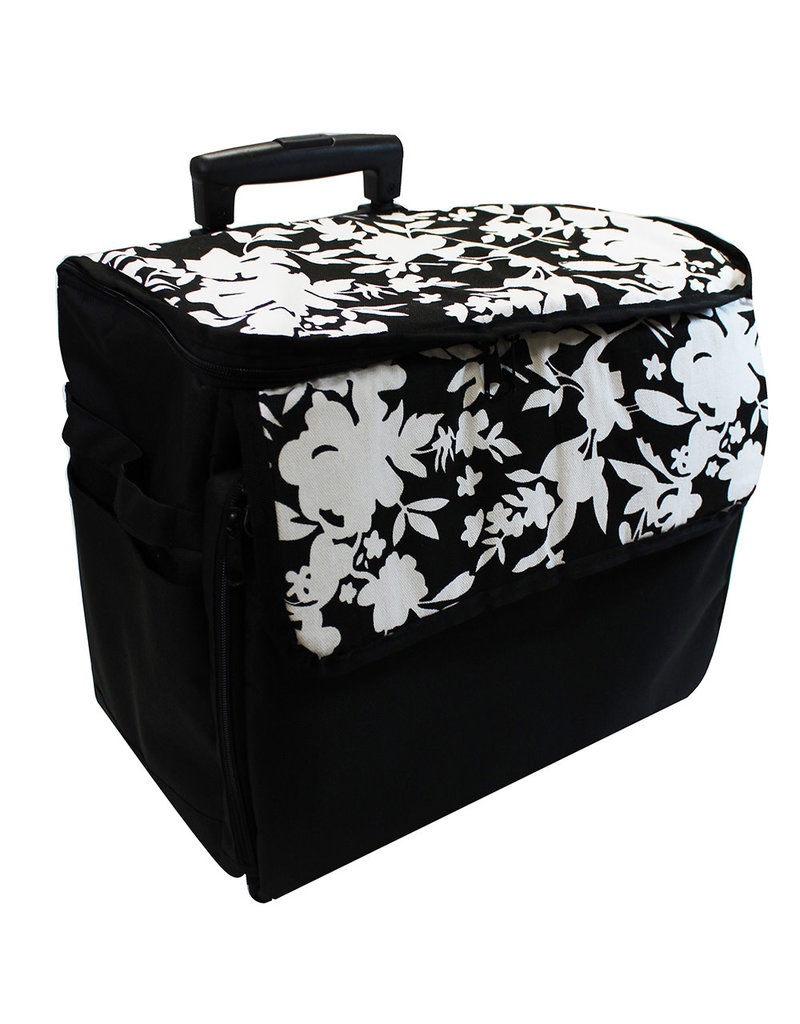 Vivace Transport case on wheels black printed