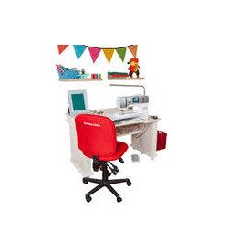 Chaise rouge Bernina