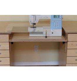 "Eddycrest Acrylic Sewing Machine Extension Table 24"" x 18"""