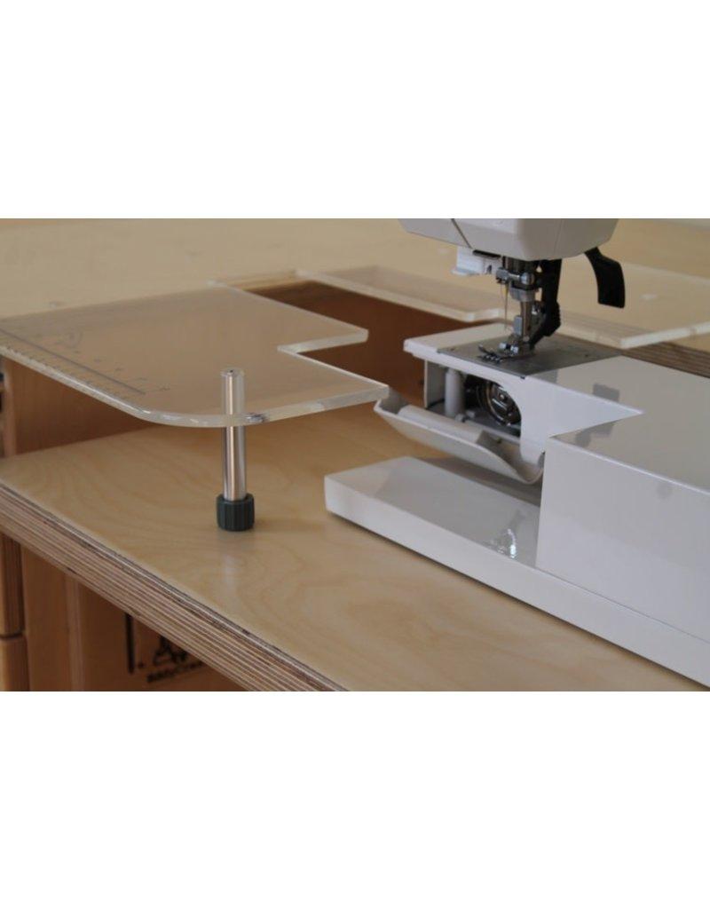 Eddycrest Table Extension acrylique 24X18 par EddyCrest