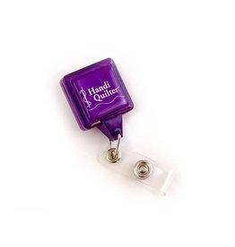 Handi Quilter Zinger Branded Retractable Scissor Holder