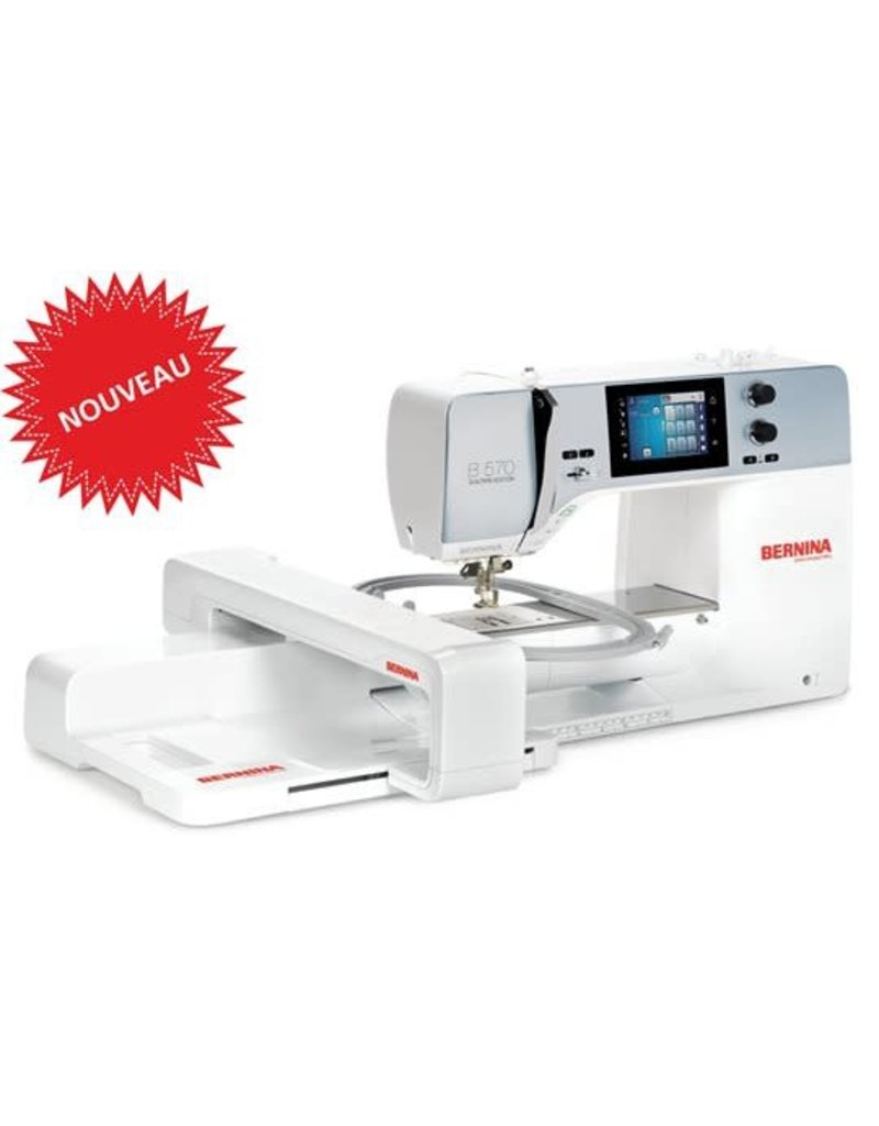 Bernina Bernina 570 with BSR sewing and embroidery