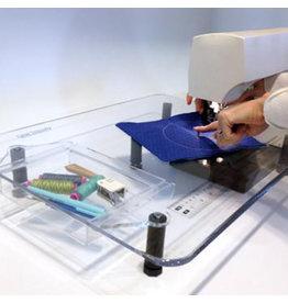Sew Steady Table de rallonge de luxe SewSteady 18x24 avec pattes