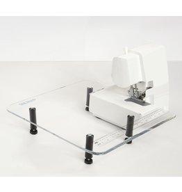 Table de rallonge surjeteuse  18x18 avec patte
