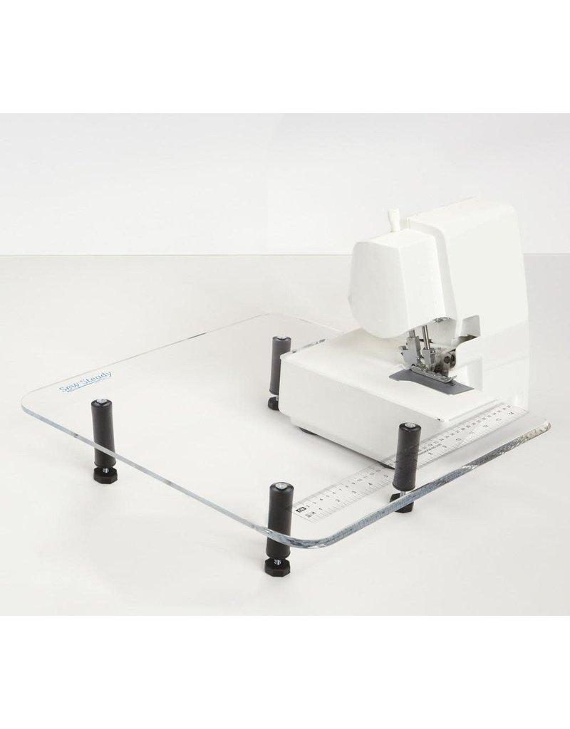 18x18 overlock table with leg
