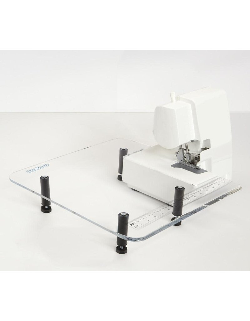 Sew Steady  18x18 overlock table with leg