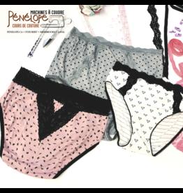 Pénélope Cours de confection de lingerie