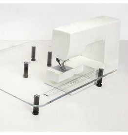 Sew Steady 24X24 sewing machine extension table with leg