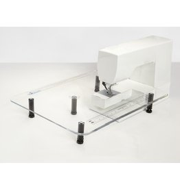 Sew Steady 18X24 sewing machine extension table with leg