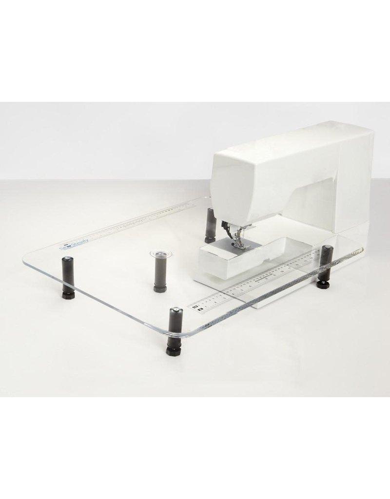 Sew Steady Table de rallonge SewSteady 18x24 pour machine à coudre avec pattes