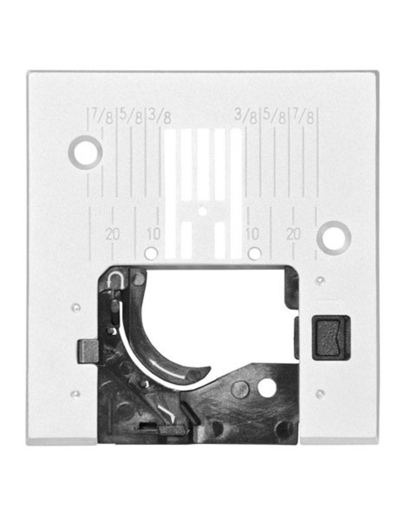 Pfaff 308-7G PFAFF Plaque à aiguille pour point droit avec repère en pouce