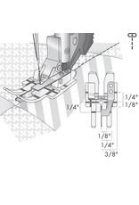 Pfaff 308-9E PFAFF Pied piqûre dans la couture transparent avec système IDT™